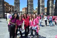 OCIOBAILE BAILES DE SALÓN Y ZUMBA ®  SEGOVIA . Marcha Mujer 2014 200