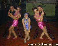 Foto actuación Josebe y Esther. Bailes de Salón