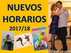 Nuevos horarios 2017-18