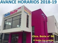 Cartel Horarios 2018