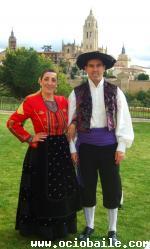 Segovianos. Josebe y Esther