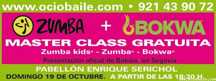 Master Class Zumba + Bokwa en Segovia